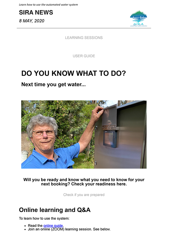 newwater system